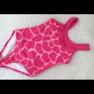 Gymboree Lovable Giraffe Spots One Piece Swimsuit